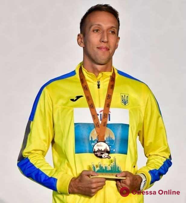 Одессит завоевал медаль чемпионата мира и лицензию на Паралимпийские игры