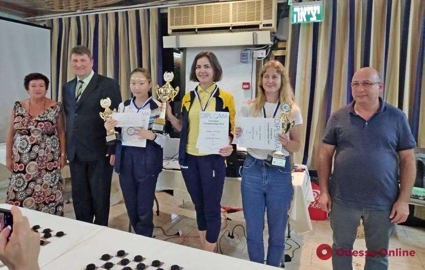 Одесситка завоевала титул чемпионки Европы по международным шашкам