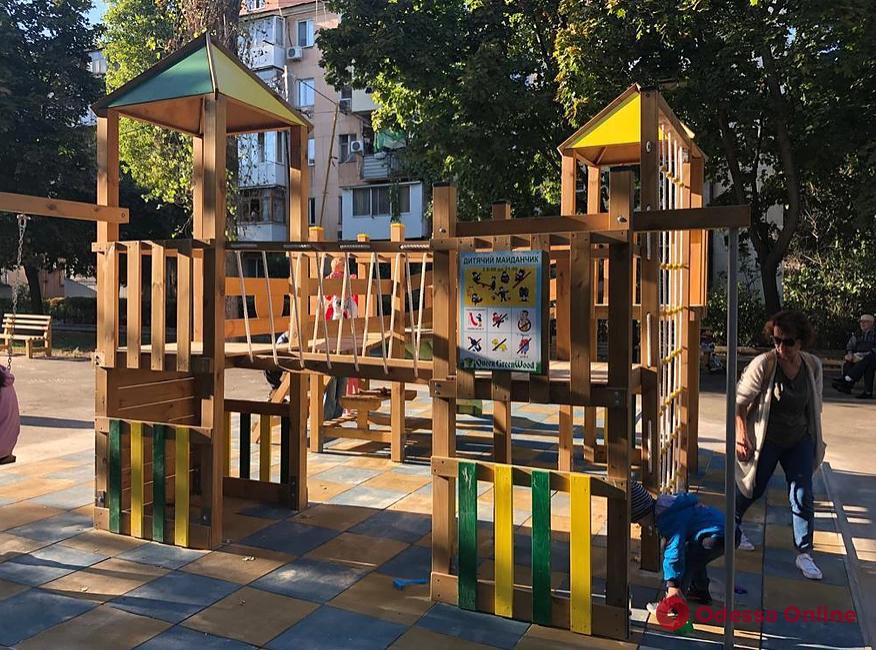В Одессе создали интерактивную карту детских площадок