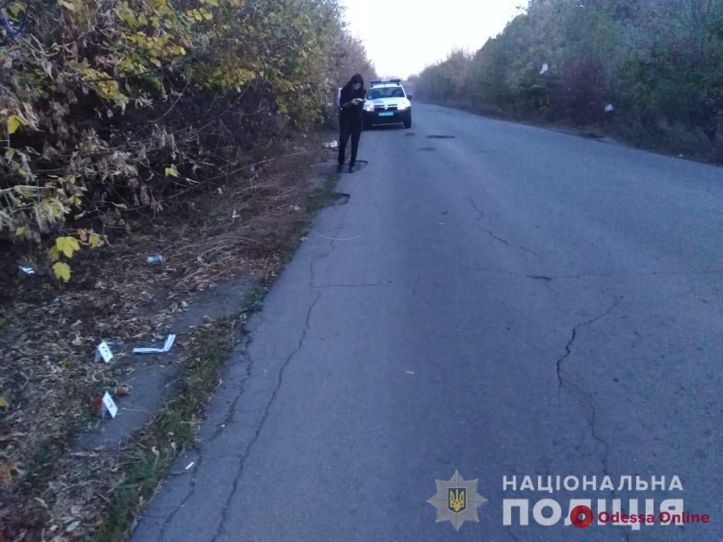 В Одесской области Opel насмерть сбил пешехода и скрылся