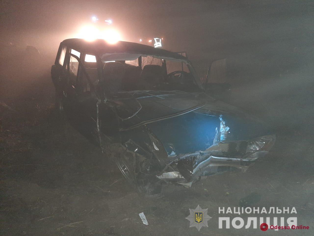 В Одесской области легковушка слетела в кювет — водитель погиб
