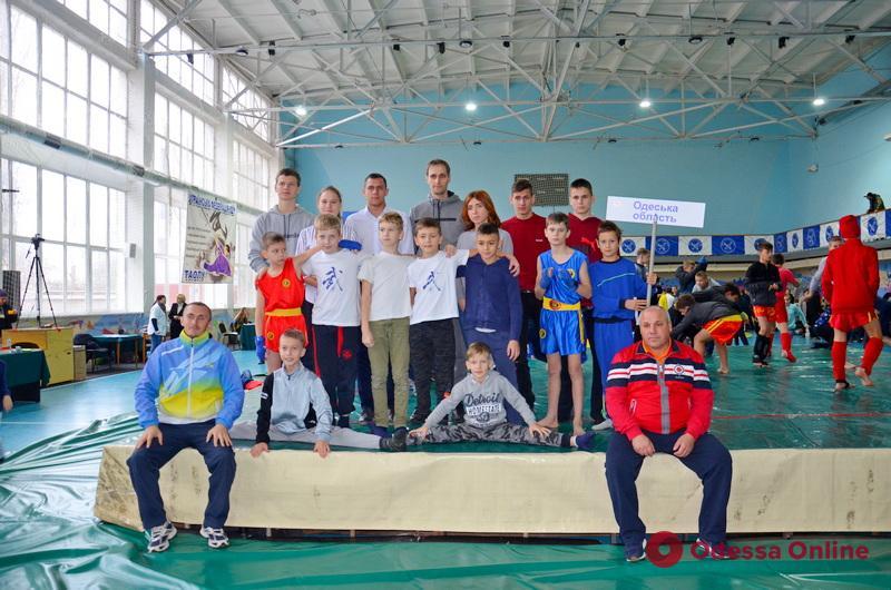 Одесситы успешно выступили в Финале Кубка Украины по контактному ушу
