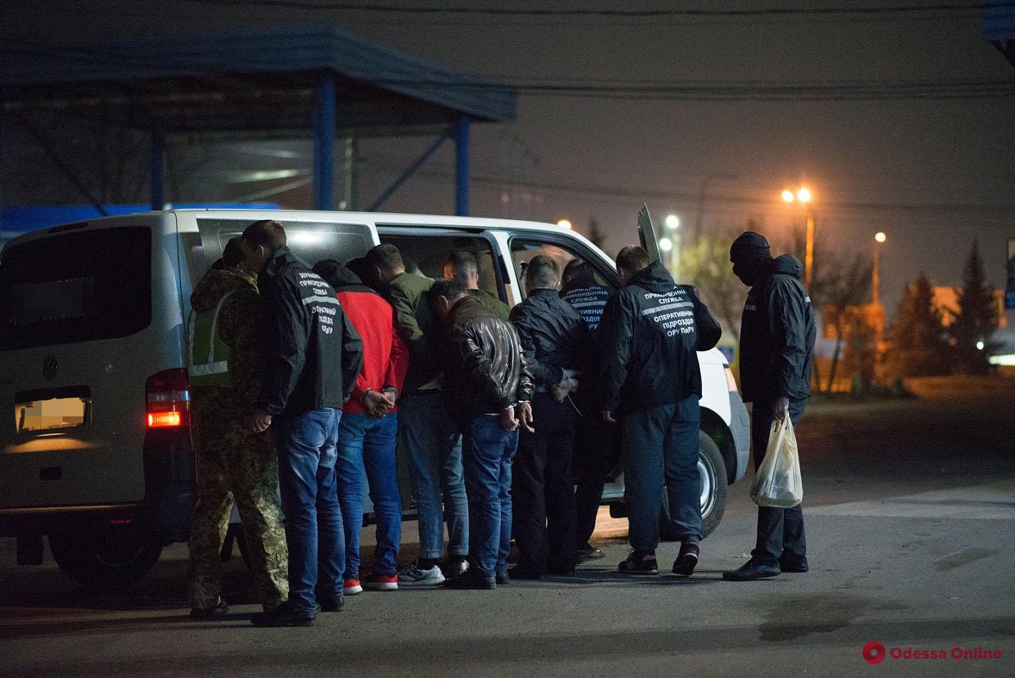 На въезде в Одессу поймали турка, который переправлял нелегалов через границу