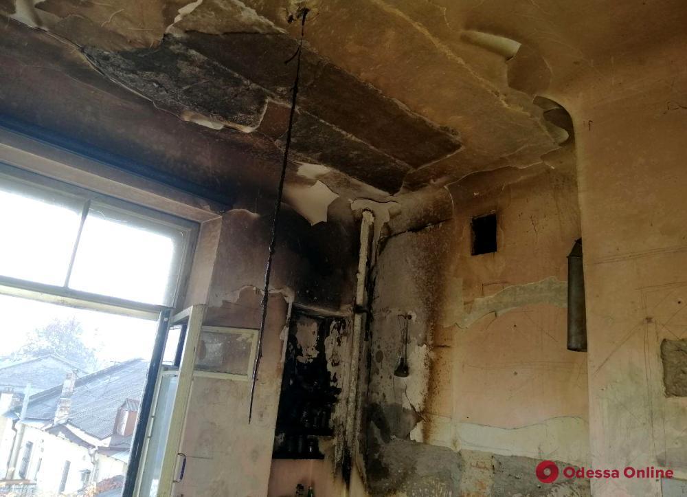 В пятиэтажке в центре Одессы загорелся газовый котел