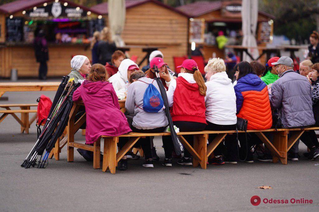 В парке Шевченко проходит семейный праздник «Дары осени»