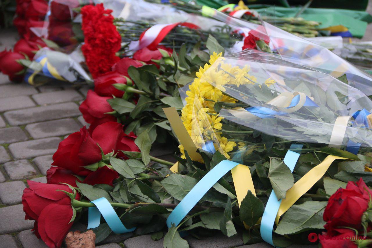 В Одессе отмечают День достоинства и свободы (фоторепортаж)