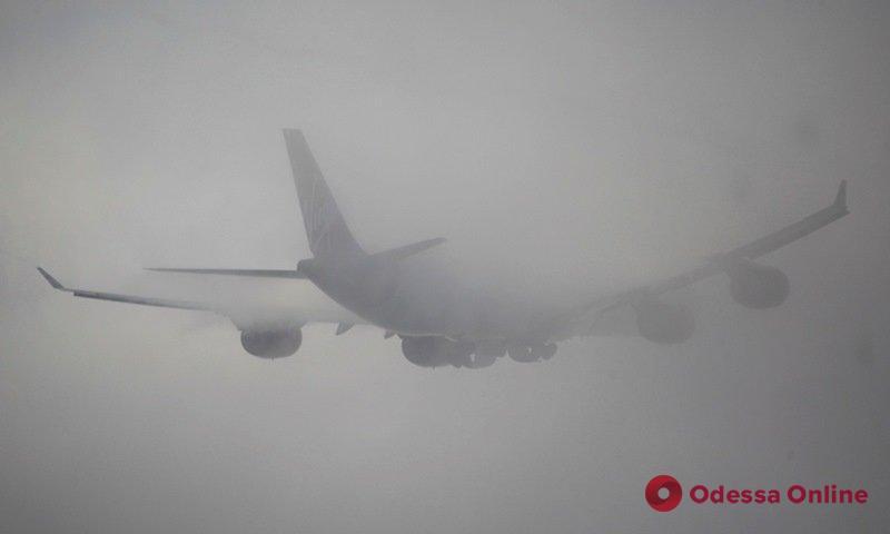 В одесском аэропорту из-за тумана отменили ряд рейсов