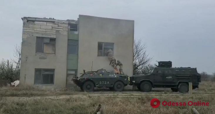 В Одесской области прошли командно-штабные учения (видео)