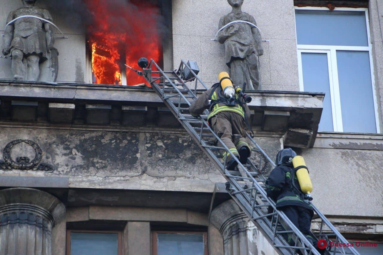 В областной детской больнице рассказали о состоянии пострадавших во время пожара в колледже