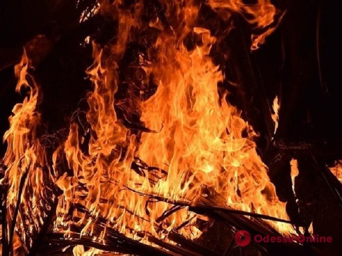 На Армейской подожгли торговый павильон (обновлено)