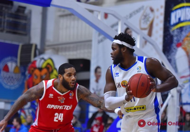 Баскетбол: «Одесса» во второй раз в сезоне обыграла лидера Суперлиги