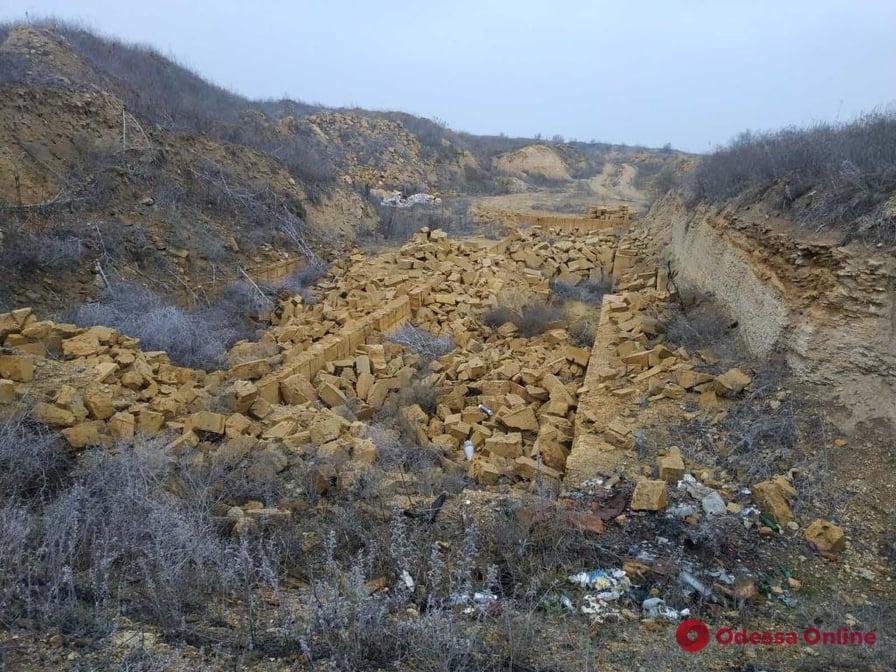 Ущерб на миллион: в Одесской области незаконно добывали ракушечник