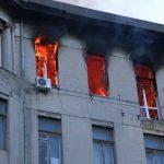 В центре Одессы горит колледж (фото, видео, обновляется)