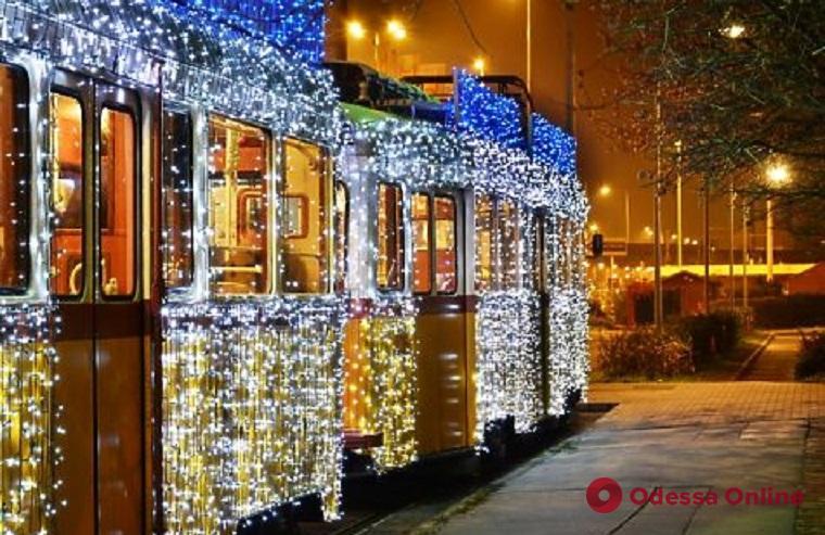 В Одессе в новогоднюю ночь общественный транспорт будет работать до утра