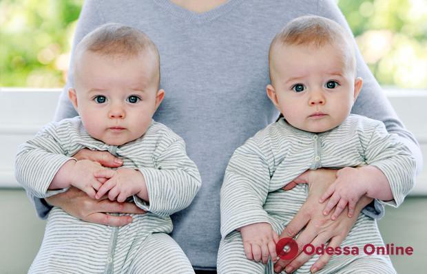 В Одессе на минувшей неделе на свет появились две пары близнецов
