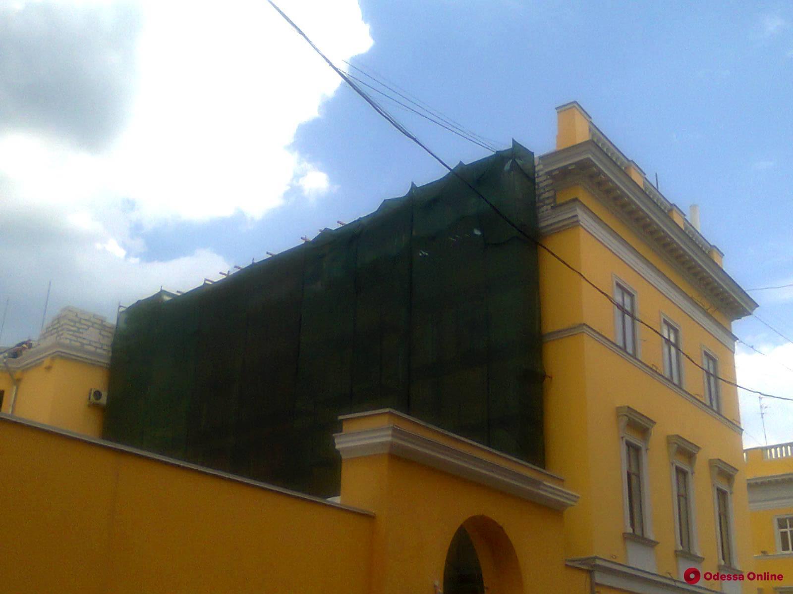 Апелляционный суд снял арест с памятника архитектуры на Приморском бульваре