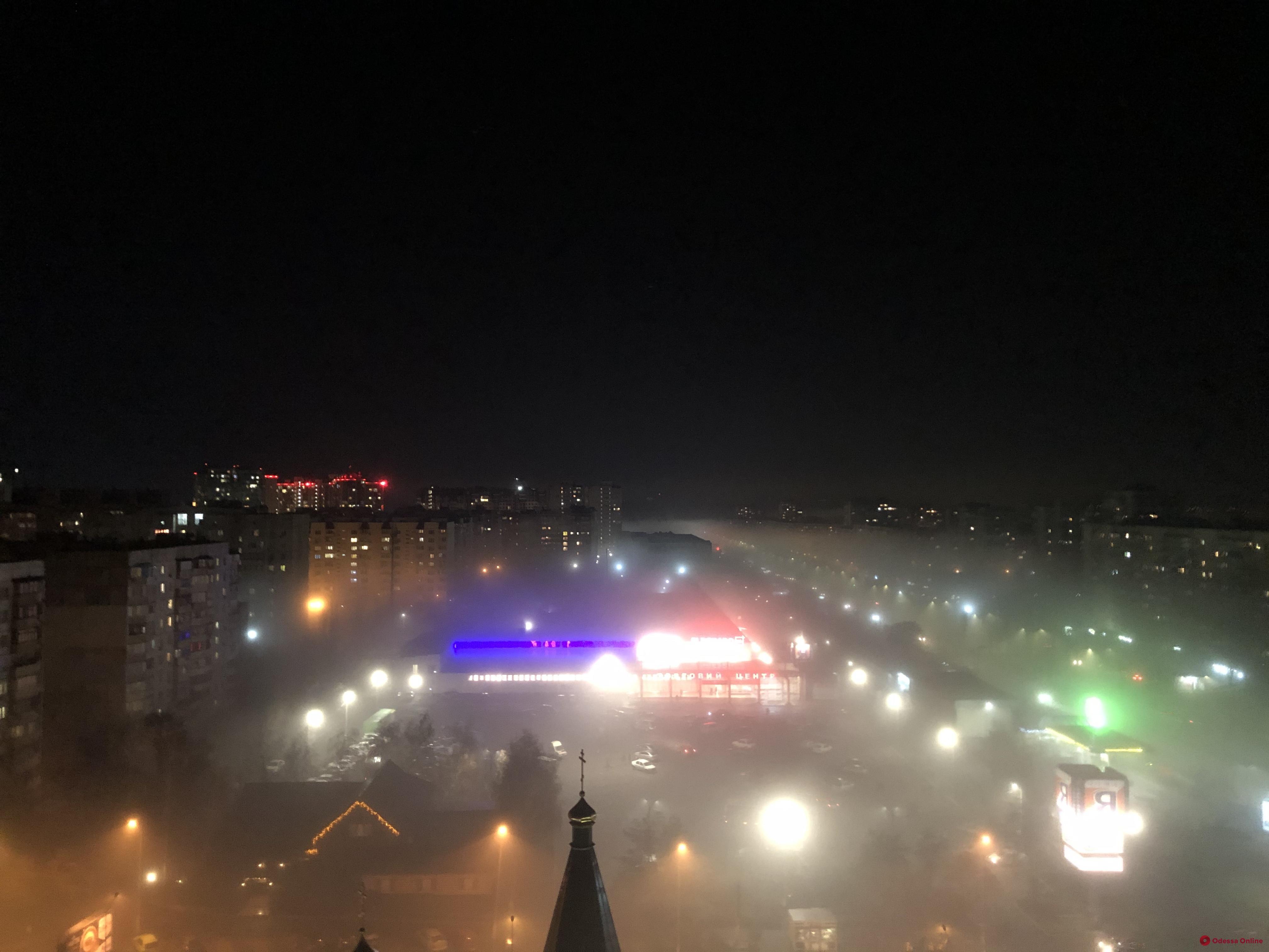 Туман нарушил работу Одесского аэропорта