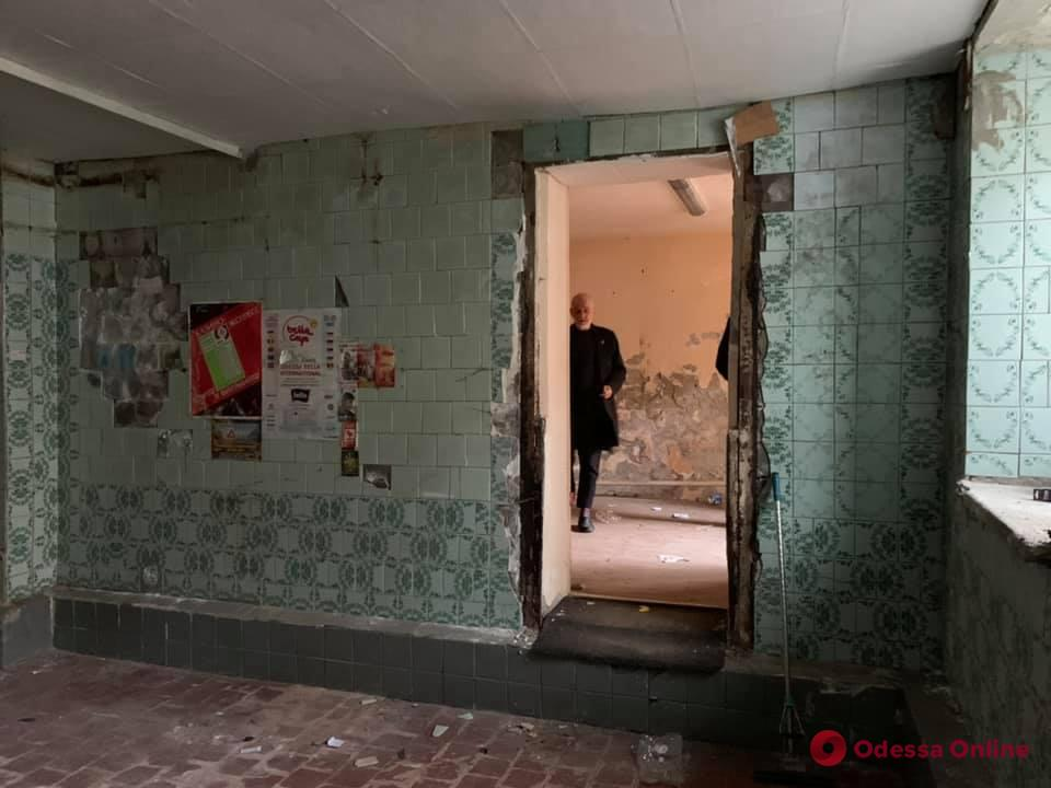 Одесский художественный музей получил помещение для запасника