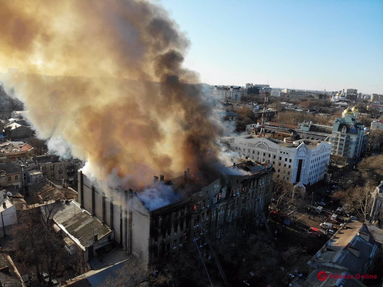 Пожар на Троицкой: в суд направлен обвинительный акт