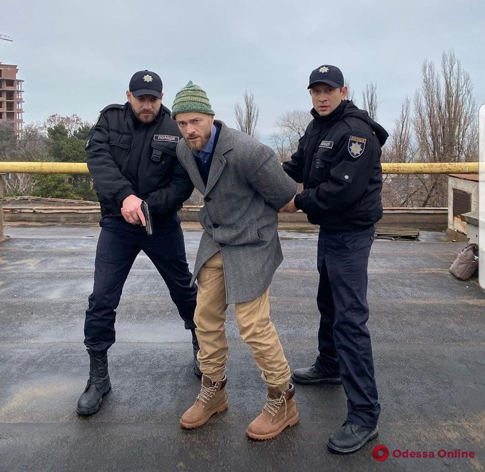 «Нереальный КОПец» в Одессе: на крыше задержали Влада Яму (фото)