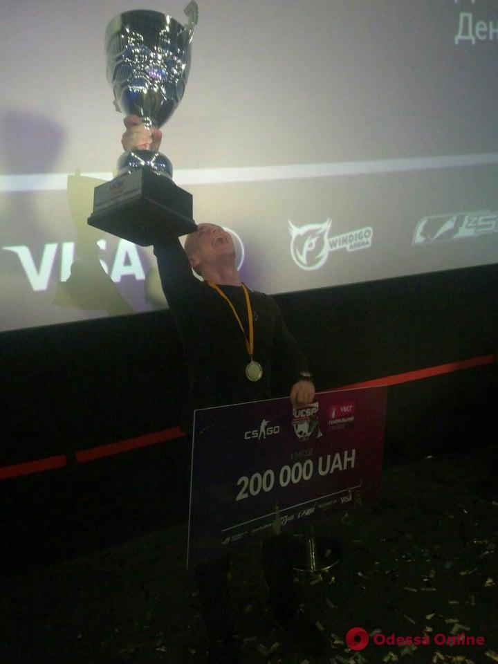 Одесские киберспортсмены выиграли 200 тысяч в Днепре (фото)