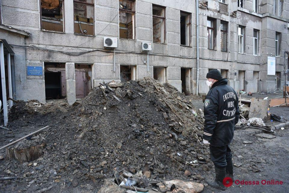 Правительственная комиссия назвала причины пожара на Троицкой