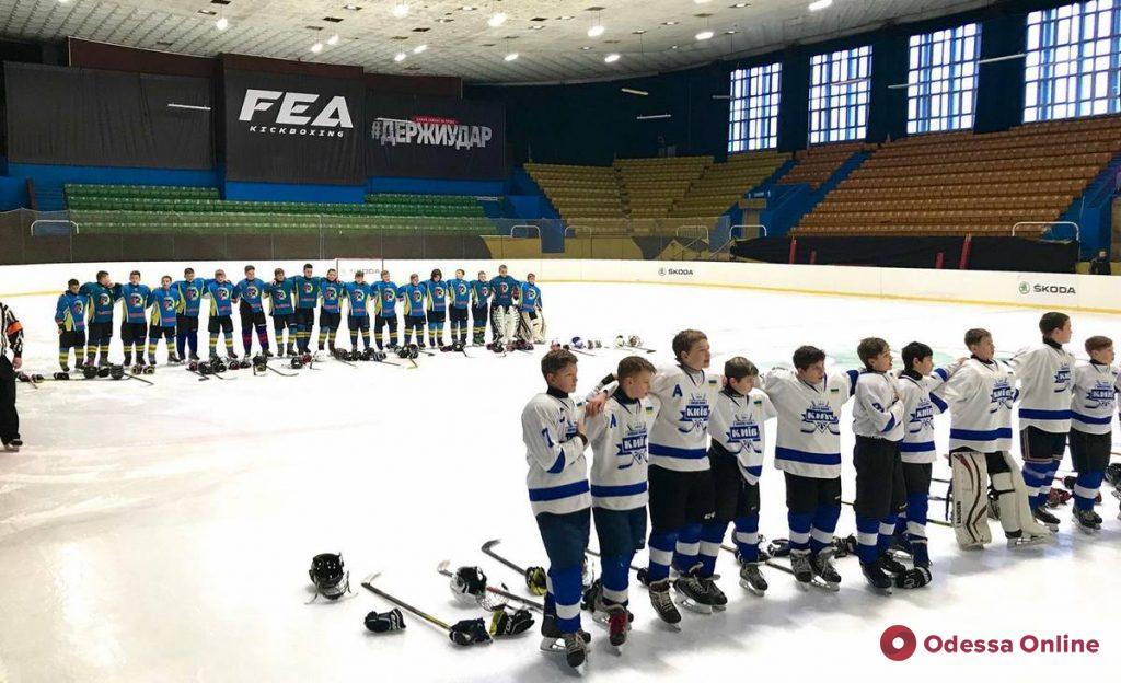 Хоккей: юные одесситы дважды разгромили соперника из Киева