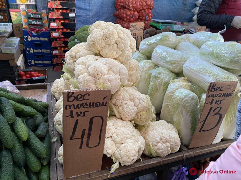 Яйца, баклажаны и тыква: воскресные цены на одесском «Привозе»