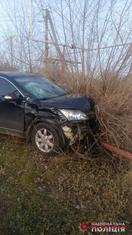 Под Одессой насмерть сбили мотоциклиста