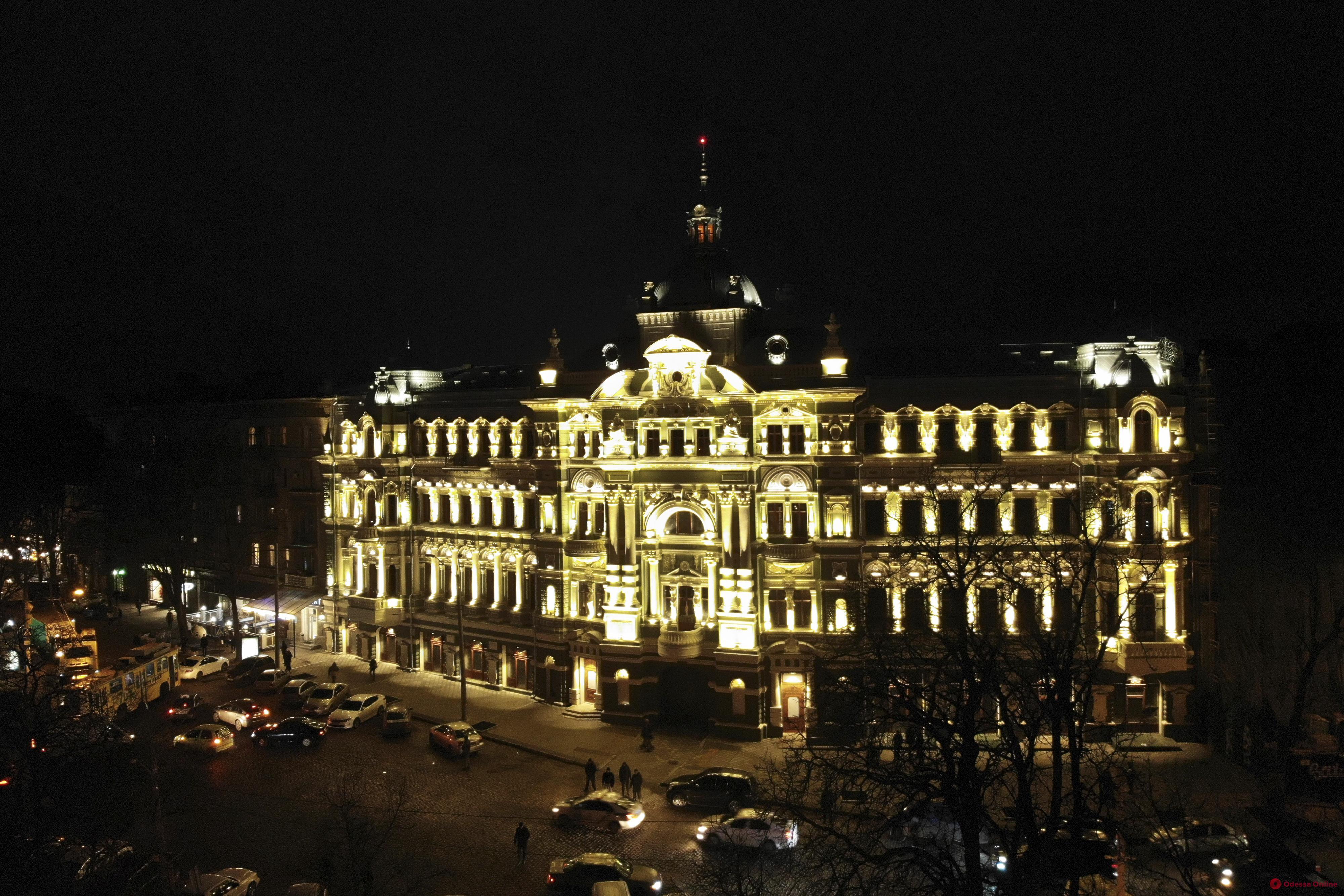 В Одессе под звуки симфонического оркестра открыли отреставрированный дом Руссова (фото)
