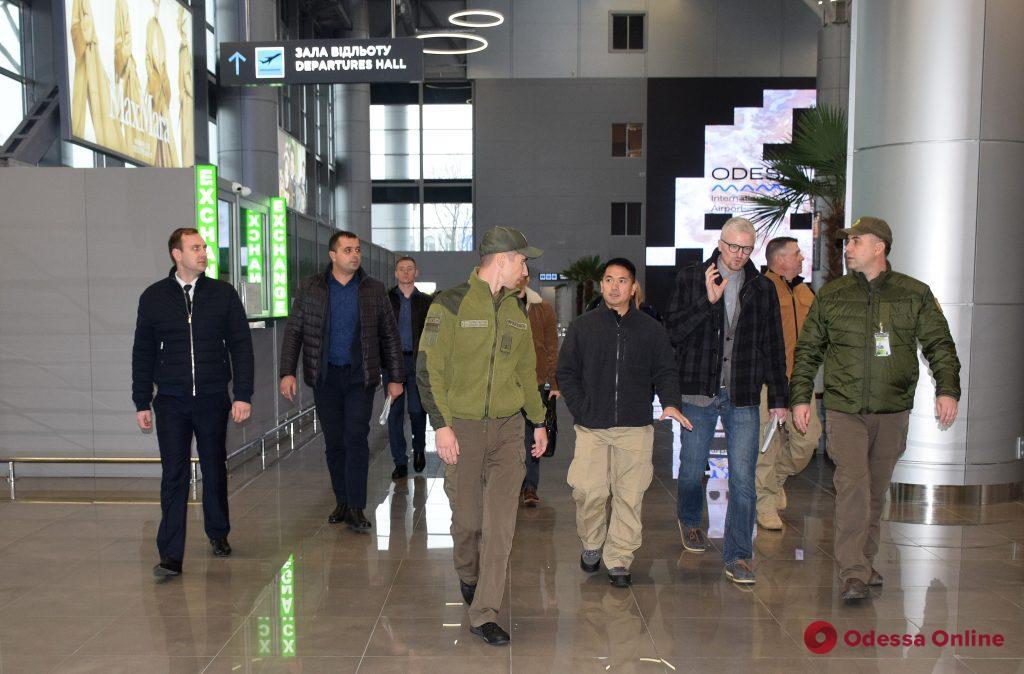 Одессу посетила делегация Таможенно-пограничной службы США