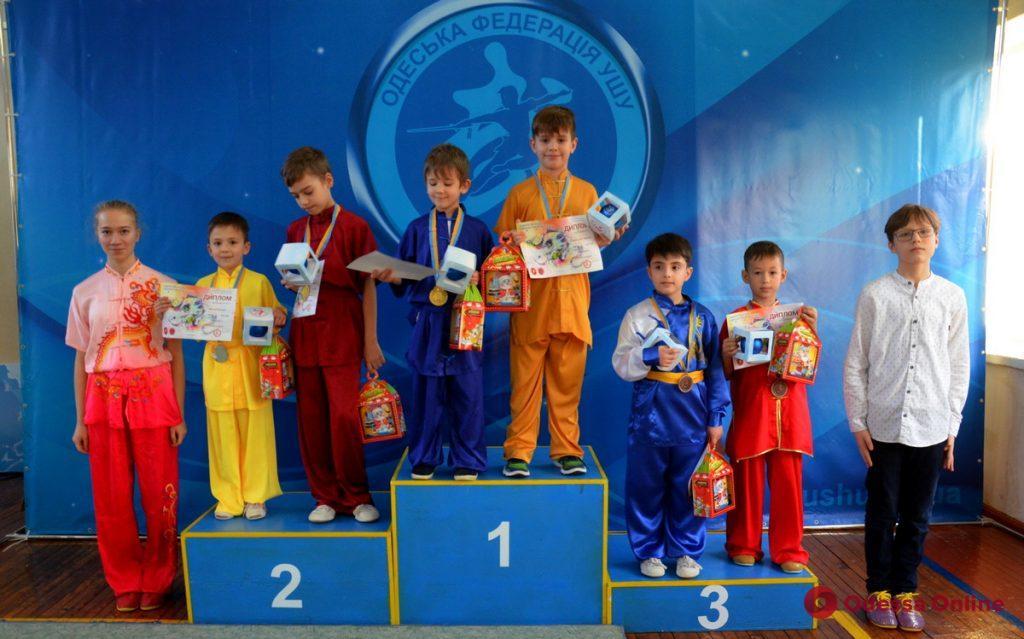 В Одессе состоялся новогодний турнир по ушу