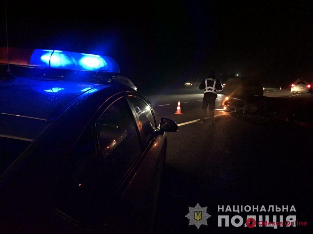 В аварии на трассе Одесса-Рени погиб мотоциклист