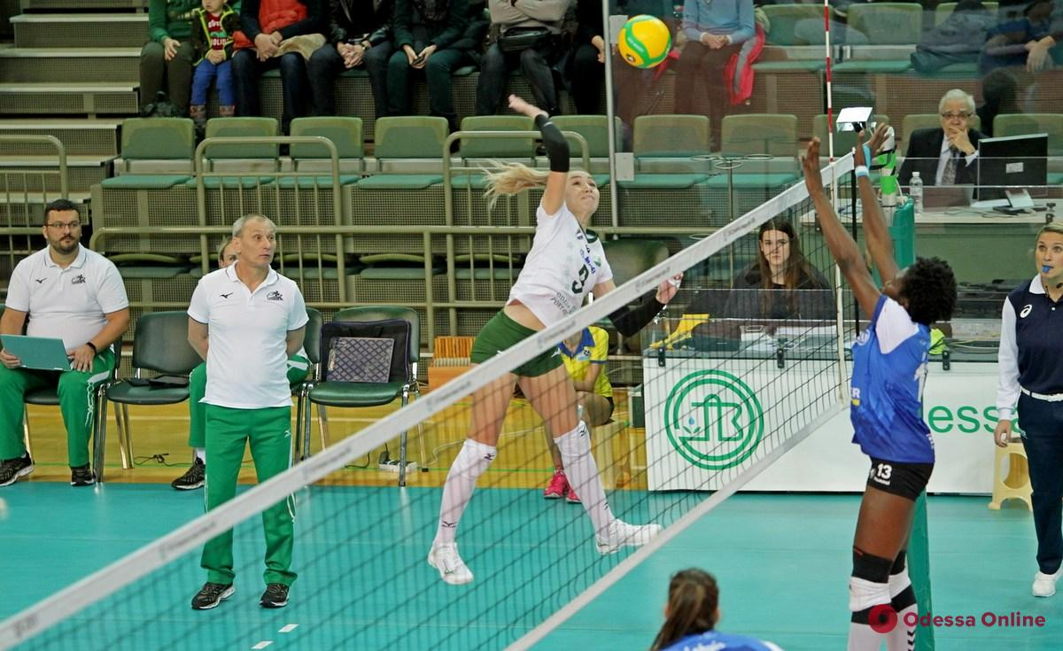 Волейбол: «Химик» проиграл третий матч в Лиге чемпионов