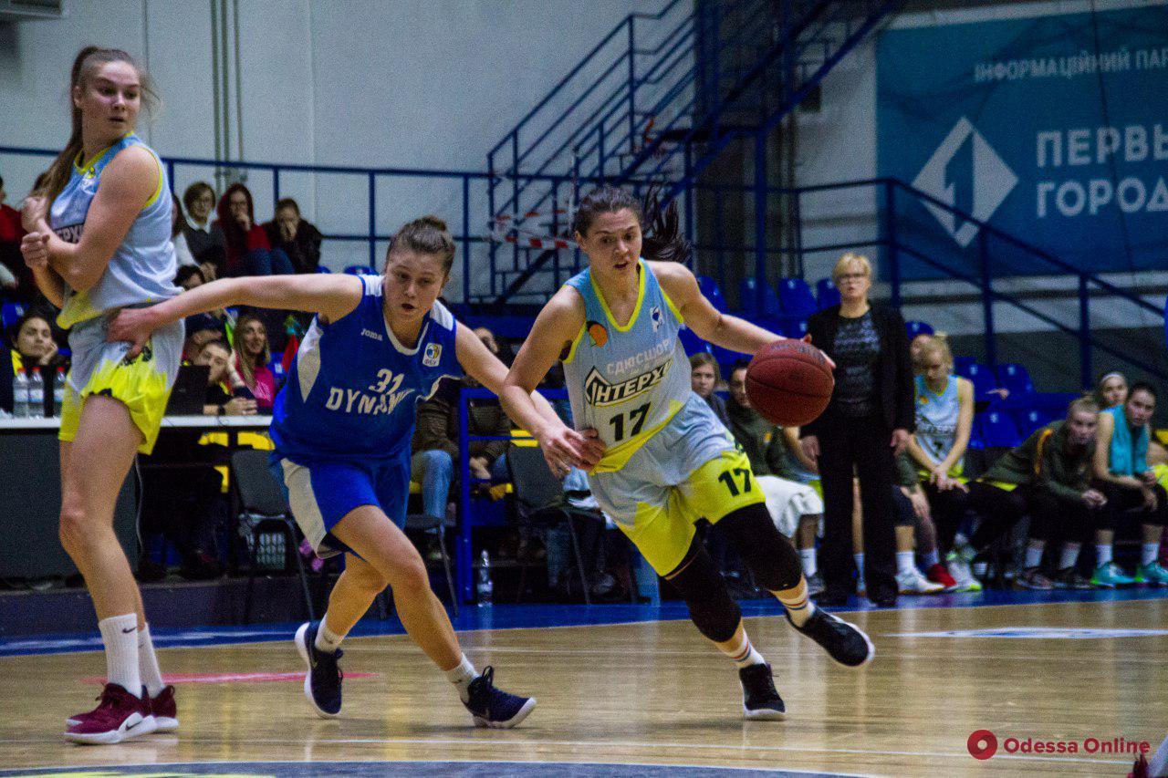 Одесские баскетболистки на последних секундах проиграли чемпиону Украины