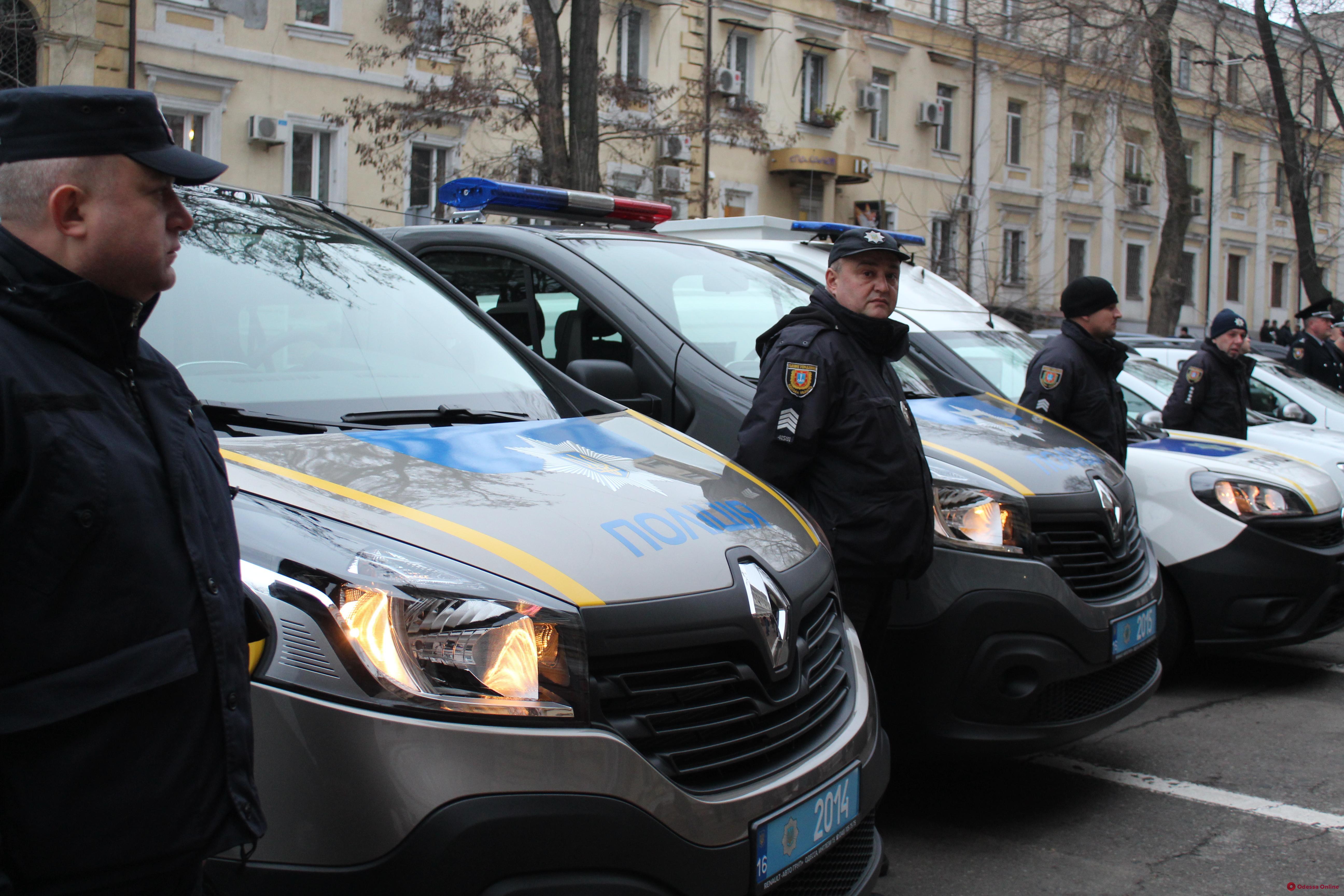 Одесские правоохранители получили 15 новых служебных автомобилей (фото)