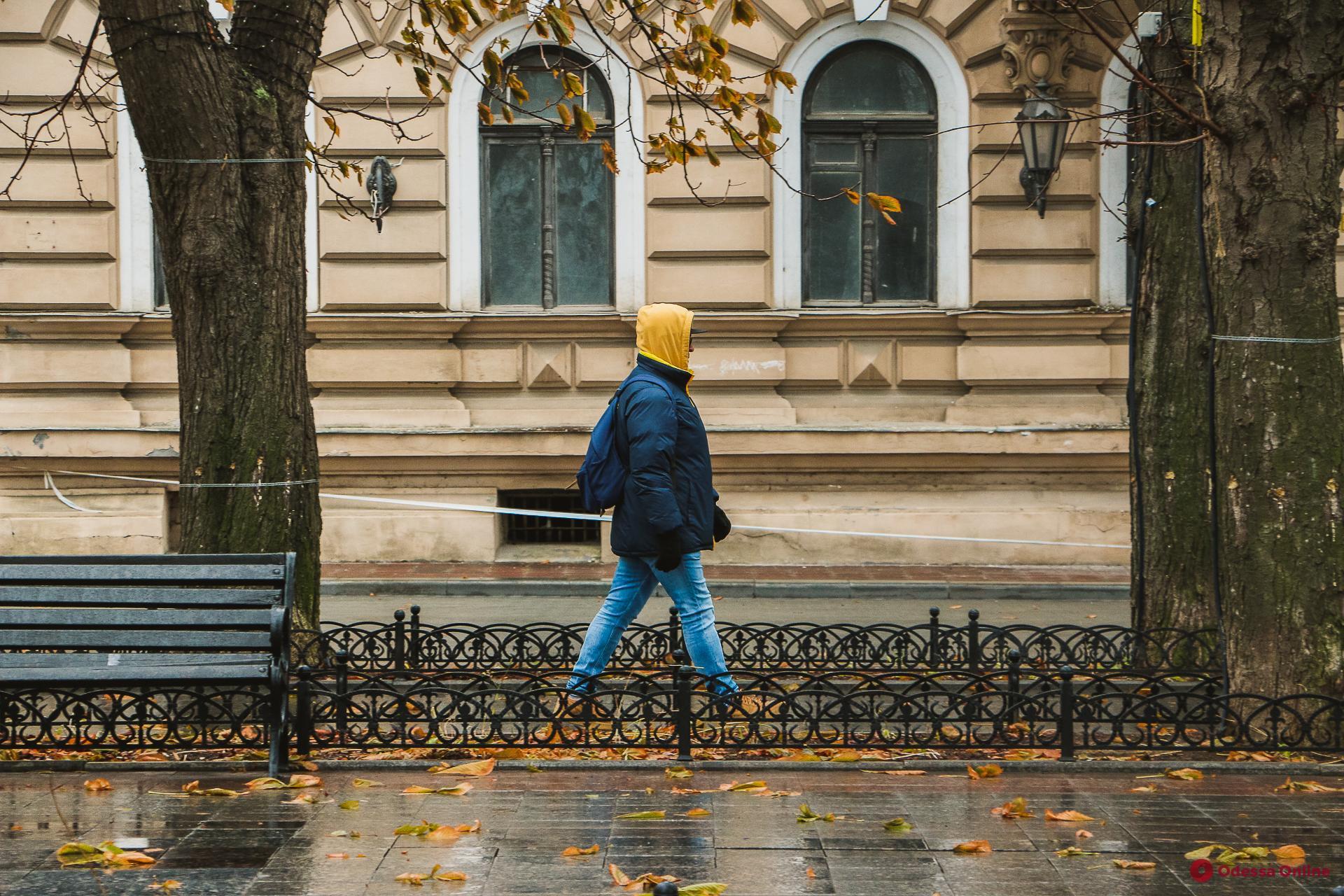 Фотопрогулка по пасмурной Одессе