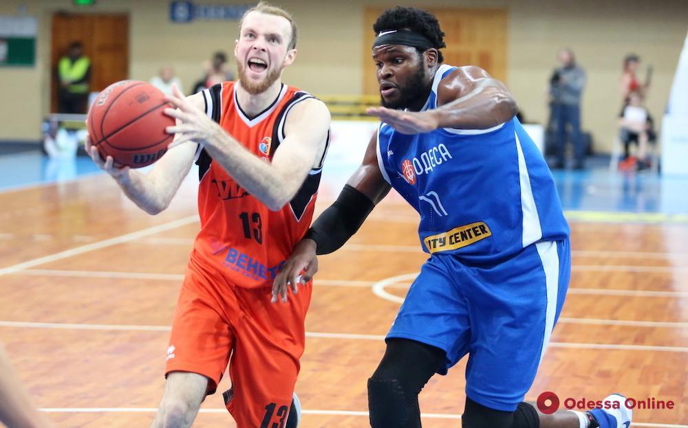 Баскетбол: «Одесса» проиграла в Черкассах, «Химик» разгромлен в Киеве