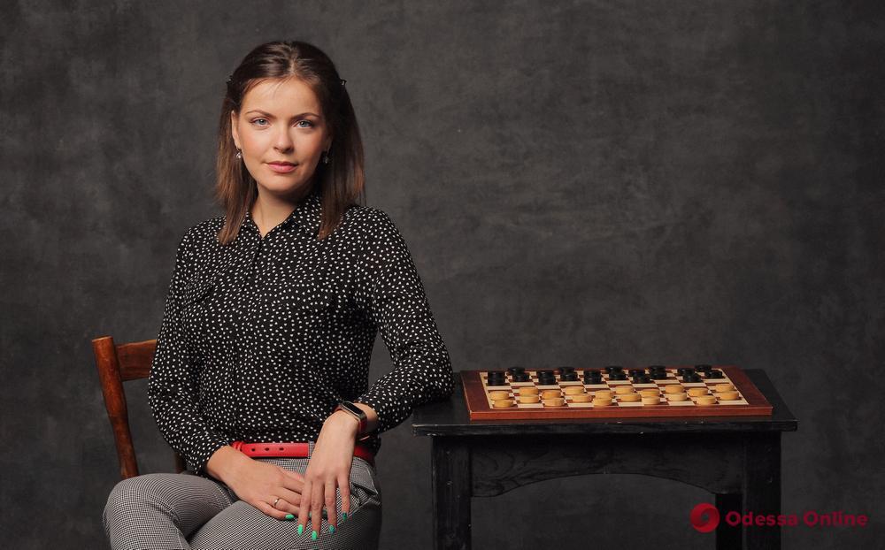 Одесская шашистка в составе сборной Украины продолжает побеждать в Кубке Наций