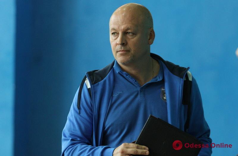 Футзал: перед матчем с чемпионом Украины одесский клуб остался без главного тренера