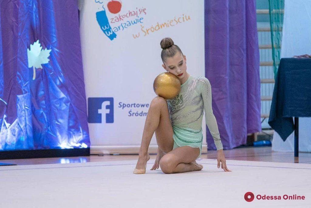 Одесские гимнастки завоевали медали международного турнира в Польше