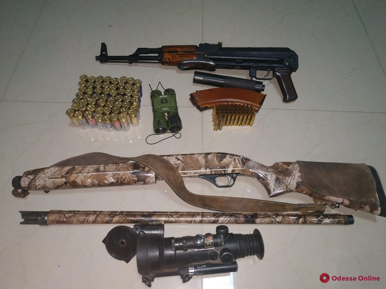 В Одесской области пограничники поймали охотников-нарушителей