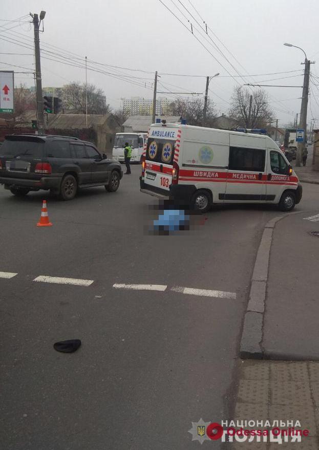 В Одессе пешеход погиб под колесами грузовика