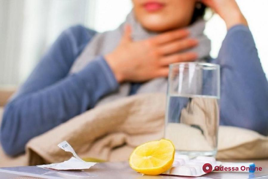 За неделю ОРВИ и гриппом заболели 5,5 тысячи одесситов