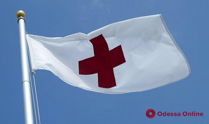 В «Красном кресте» прокомментировали скандал на месте пожара на Троицкой (видео)
