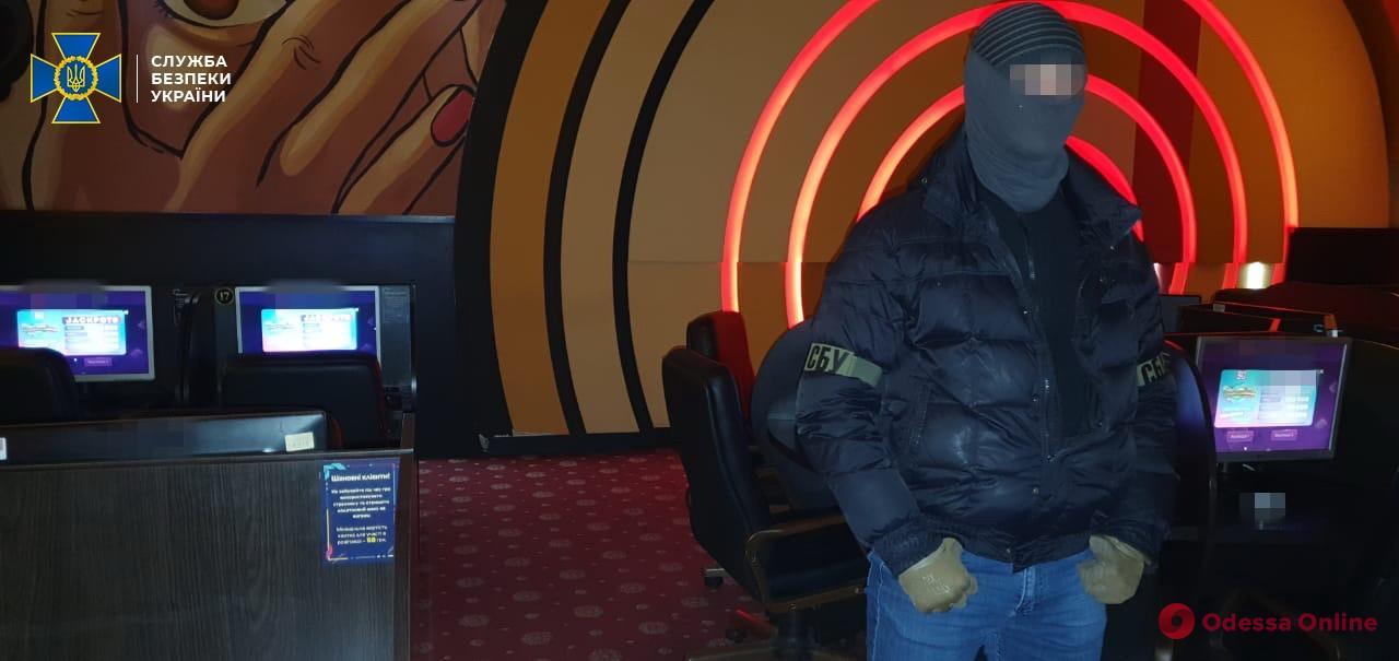 В Одессе СБУ «накрыла» десять нелегальных казино
