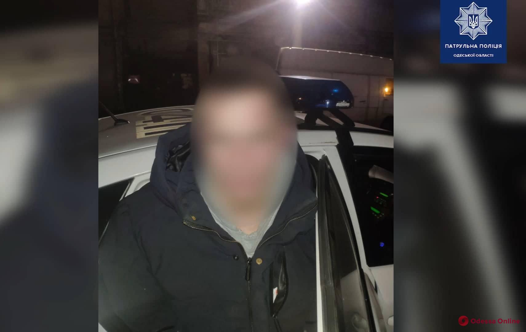 На Молдаванке на горячем поймали горе-вора (видео)