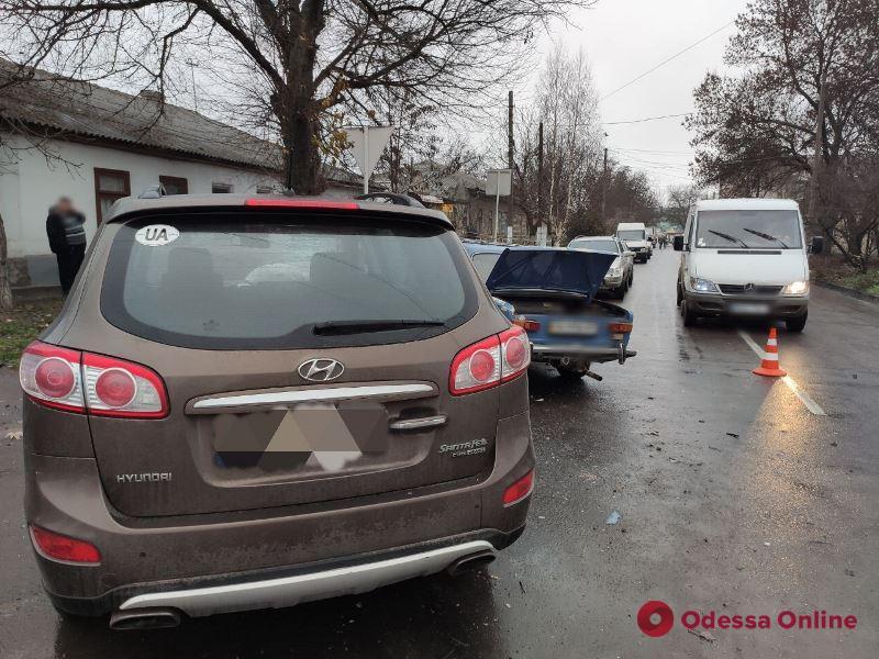 В ДТП в Измаиле пострадали четыре человека