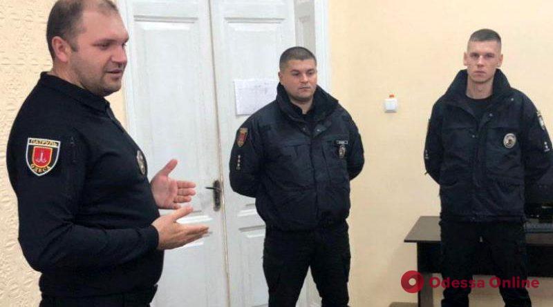 В Измаиле представили нового начальника патрульной полиции