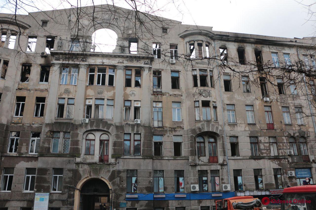 В Одессе опознали третью жертву пожара